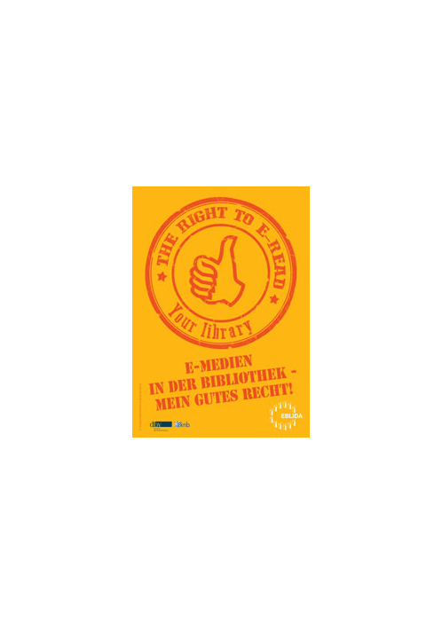 Buchcover - The right to e-read©Stadt Taunusstein