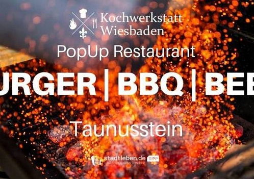 Pop up Returant  Burger/ BBQ/ Beer in Taunusstein © Stadt Taunusstein